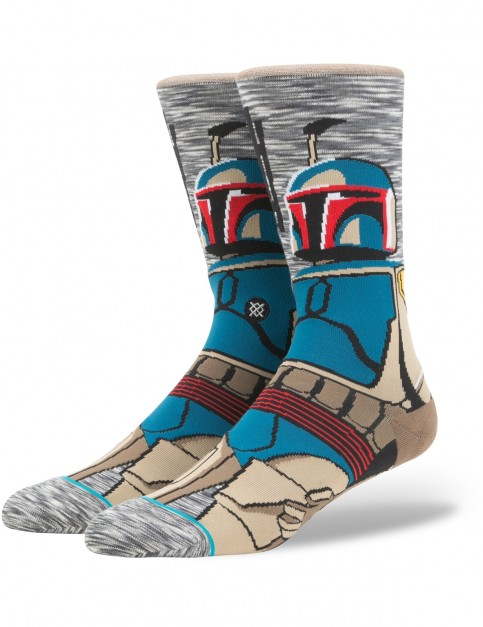 Stance Star Wars Bounty Hunter Crew Socks in Grey