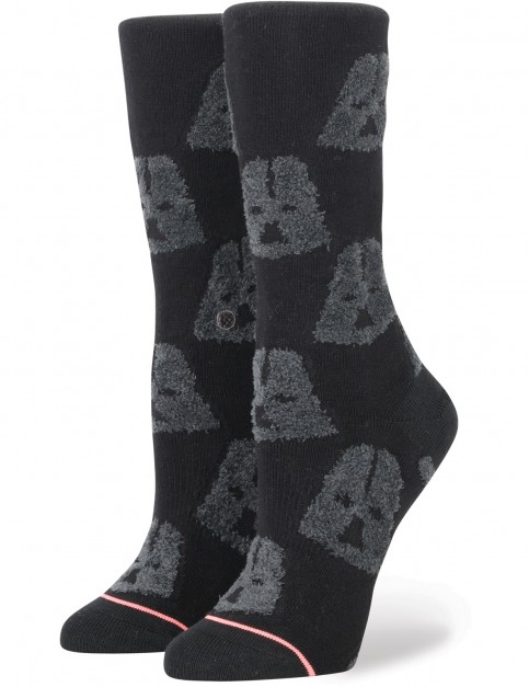 Stance Star Wars Cozy Vader Crew Socks in Black