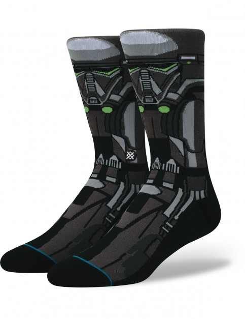 Stance Star Wars Death Trooper Crew Socks in Black