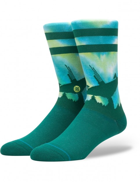 Stance Star Wars Endor Crew Socks in Green