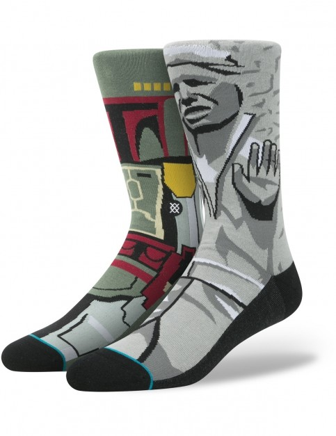 Stance Star Wars Frozen Bounty Crew Socks in Grey