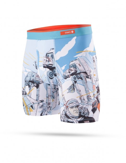 Stance Star Wars Hoth Boxer Brief Underwear in Blue