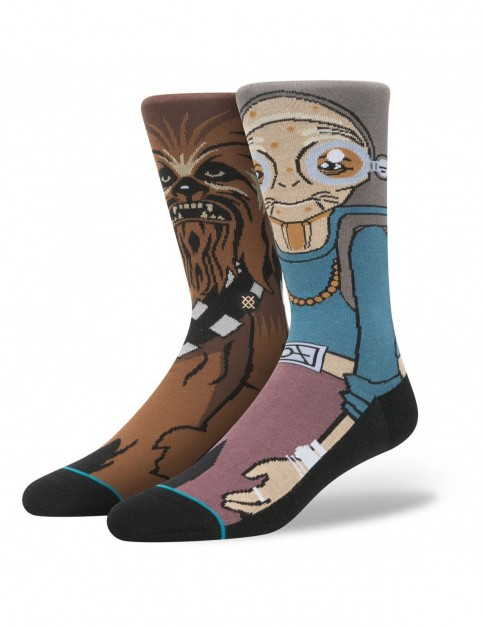 Stance Star Wars Kanata Crew Socks in Grey