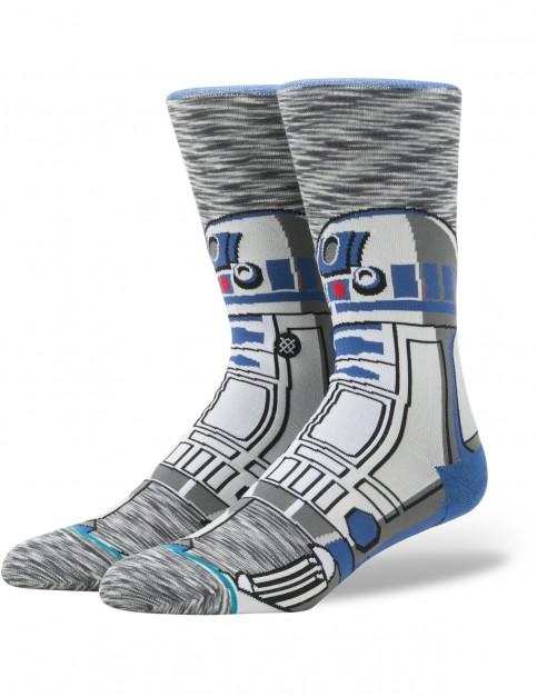 Stance Star Wars R2 Unit Crew Socks in Grey
