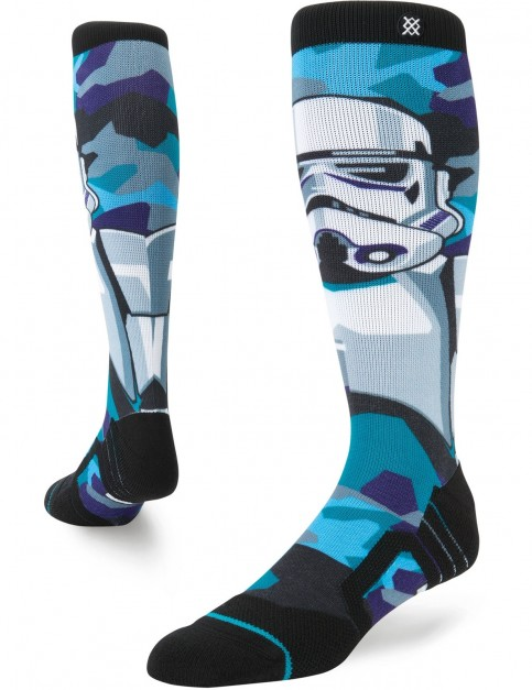 Stance Star Wars Storm Trooper Snow Socks in Turquoise