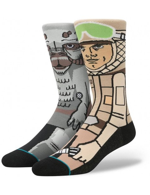Stance Star Wars Sub Zero Crew Socks in Tan