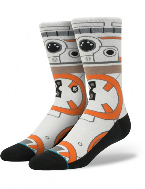 Stance Star Wars Thumbs Up Crew Socks in Natural