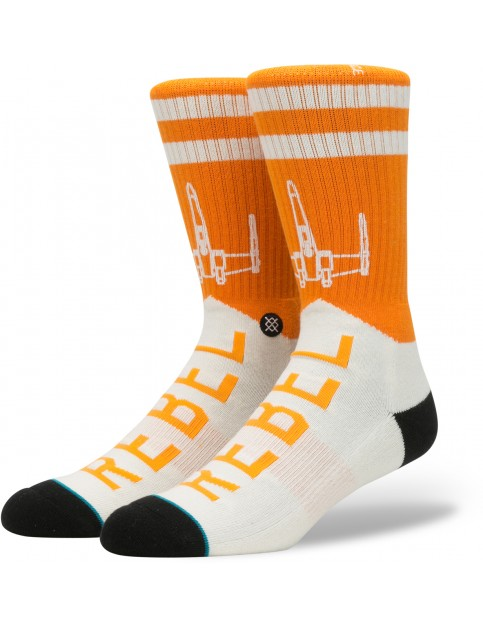 Stance Star Wars Varsity Rebel Socks in Orange