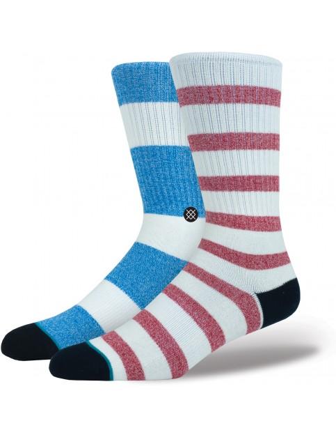 Stance Starboard Crew Socks in Natural