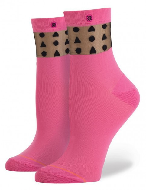 Stance Sucha Square Socks in Pink