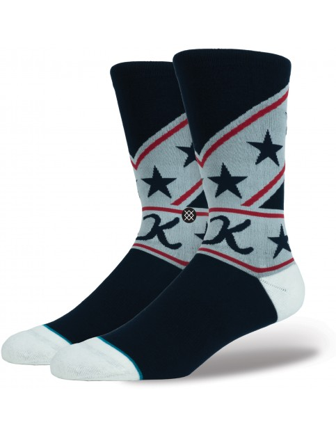 Stance Suit Up Crew Socks in Navy