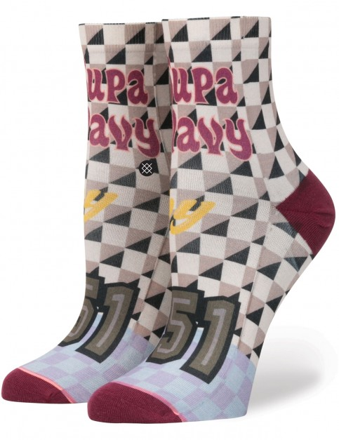 Stance Supa Wavy Crew Socks in Multi Colour