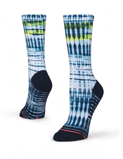Stance Tanzania Crew Socks in Blue