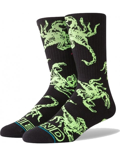 Stance The End Crew Socks in Black