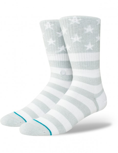 Stance The Fourth Crew Socks in Grey