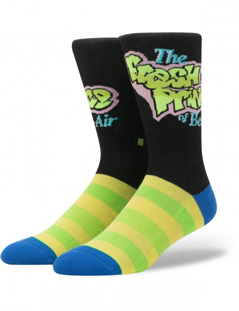 Stance The Fresh Prince Crew Socks in Yellow