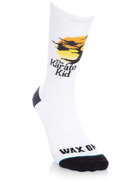 Stance The Karate Kid Crew Socks in White