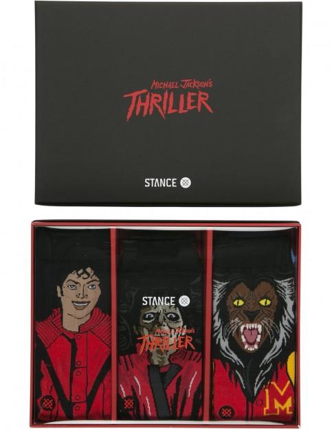 Stance Thriller 3 Pack Crew Socks in Multi