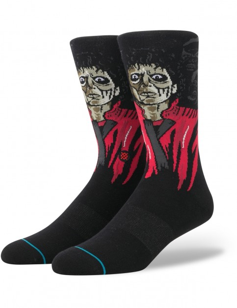 Stance Thriller Crew Socks in Black