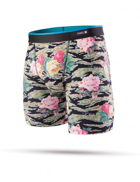 Stance Tiger Roses Underwear in Multi