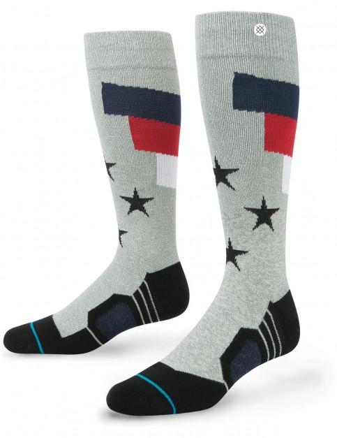 Stance Tomcat Snow Socks in Grey