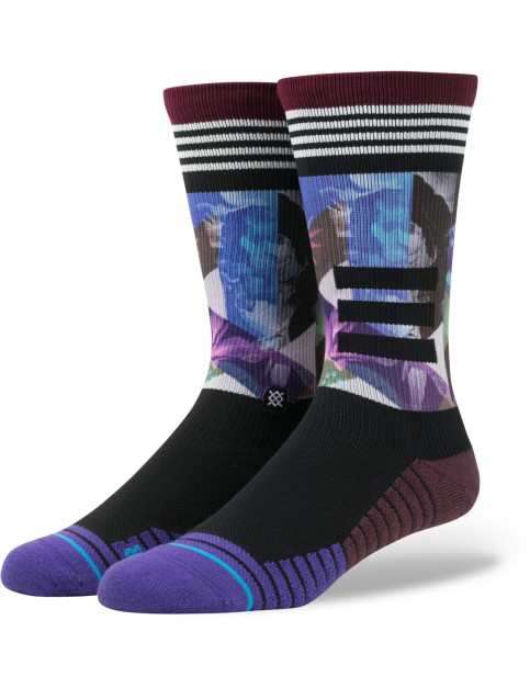 Purple Stance Tome Point Socks