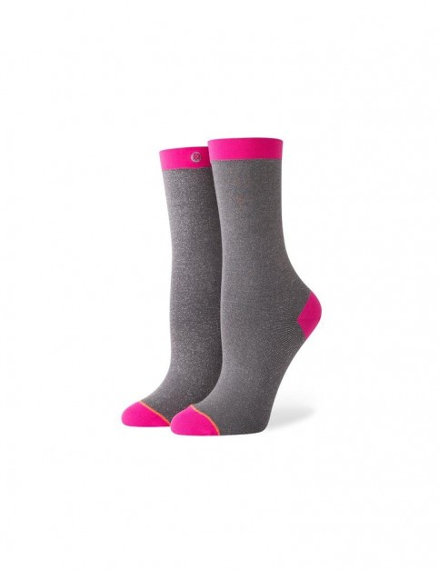 Stance Too Good Crew Socks in Pink