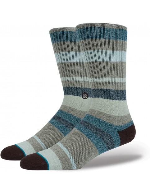 Stance Topanga Crew Socks in Forest