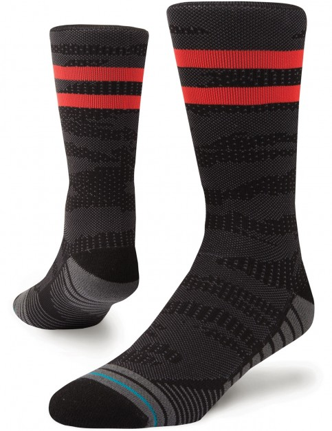 Stance Training Uncommon Solids Crew Crew Socks in Black