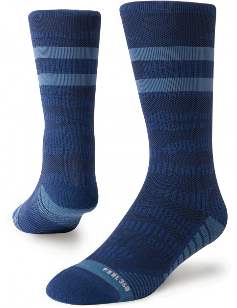Stance Training Uncommon Solids Crew Crew Socks in Navy