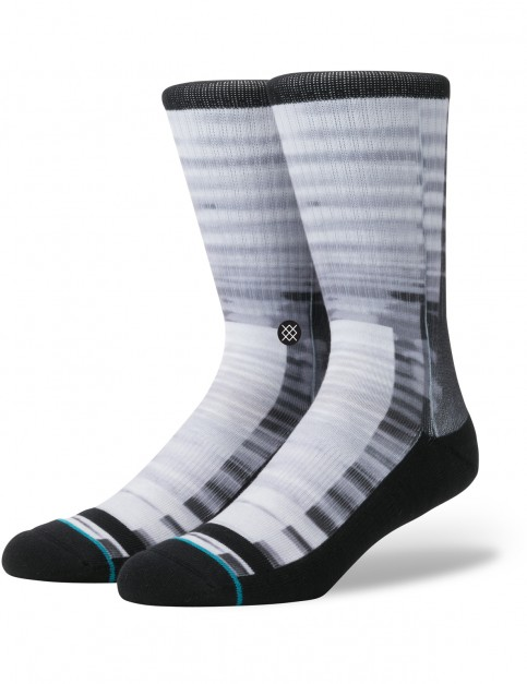 Stance Tunnels Crew Socks in Black