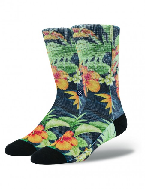 Stance Two Scoops Socks in Black