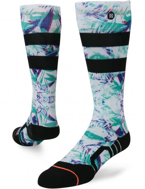 Stance Typhoon Snow Socks in Purple