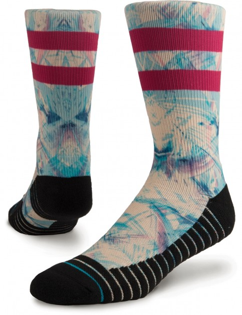 Stance Ultraviolet Crew Socks in Blue