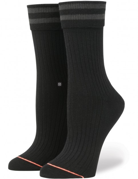Stance Uncommon Anklet Crew Socks in Black