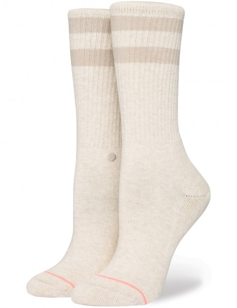 Stance Uncommon Classic Crew Crew Socks in Natural