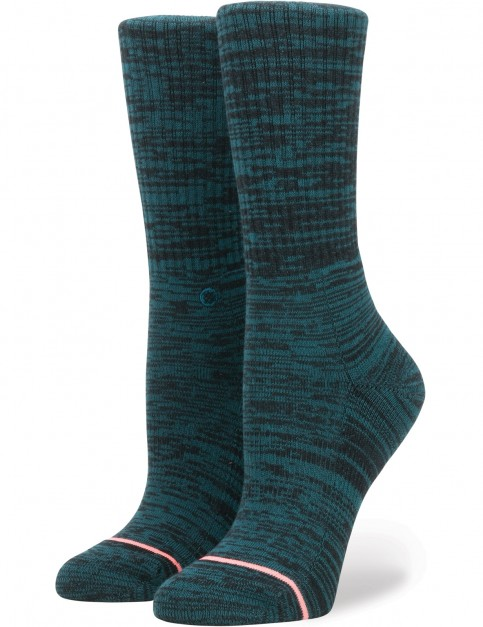 Stance Uncommon Classic Crew Crew Socks in Teal