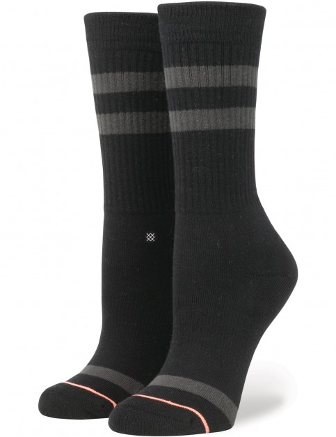 Stance Uncommon Classic Crew Socks in Black