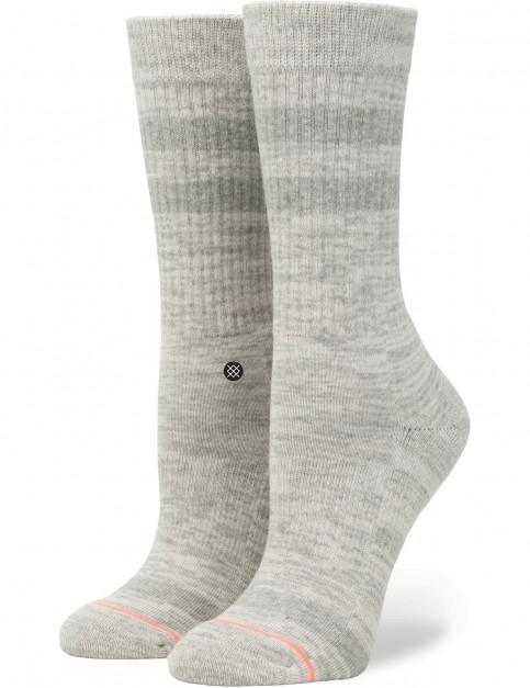 Stance Uncommon Classic Crew Socks in Grey