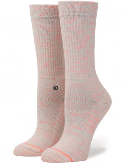 Stance Uncommon Classic Crew Socks in Pink