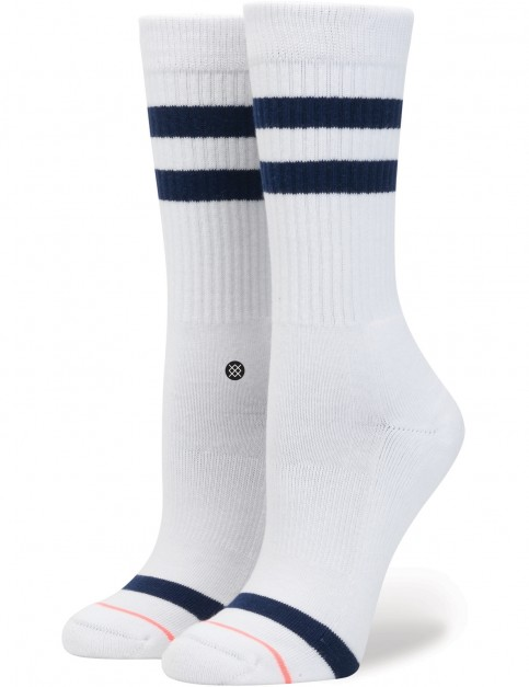 Stance Uncommon Classic Crew Socks in White
