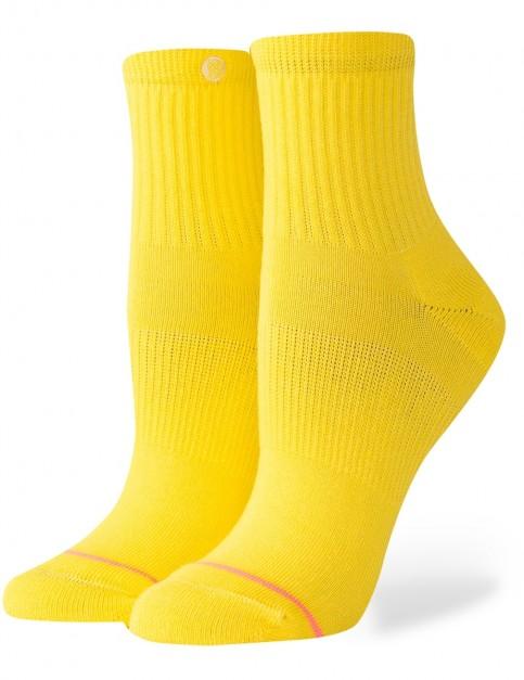 Stance Uncommon Classic Lowrider Crew Socks in Yellow