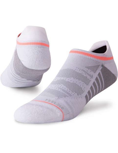 Stance Uncommon Mesh Tab No Show Socks in White