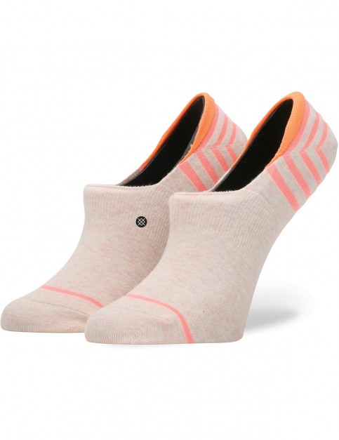 Stance Uncommon Super Invisible No Show Socks in Pink
