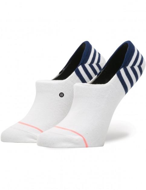 Stance Uncommon Super Invisible No Show Socks in White