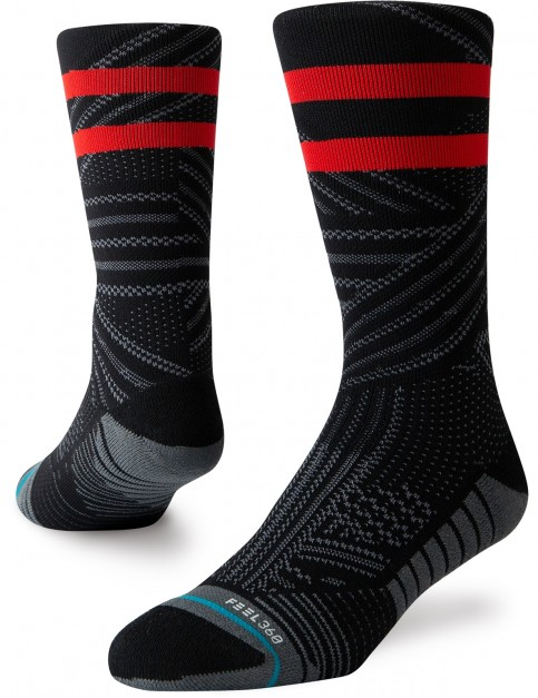 Stance Uncommon Train Crew Socks in Black