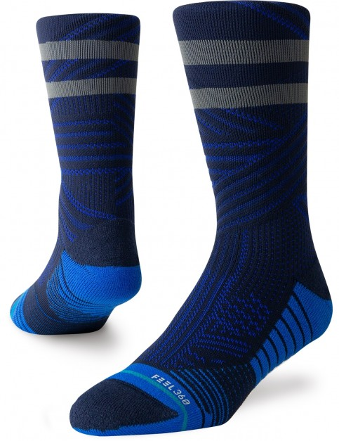 Stance Uncommon Train Crew Socks in Royal