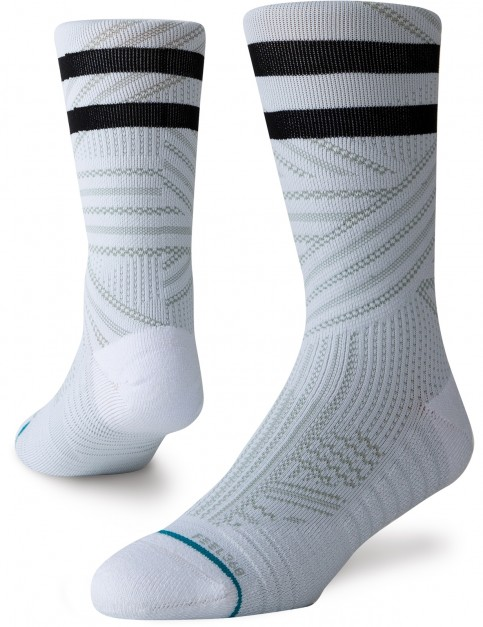 Stance Uncommon Train Crew Socks in White