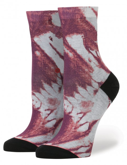 Maroon Stance Urban Twilight Socks