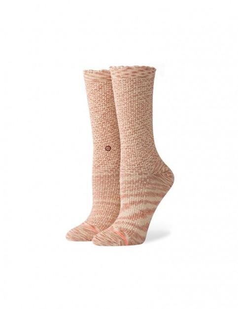 Stance Venusian Crew Socks in Sand